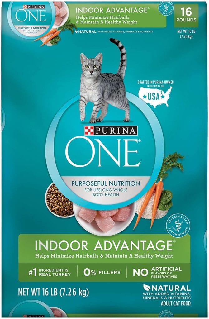Purina ONE Indoor Advantage High-Fiber Cat Food