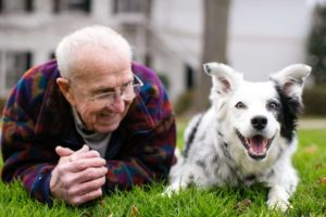 Dr. Pilley and Chaser - the dog that knows over 1,000 words