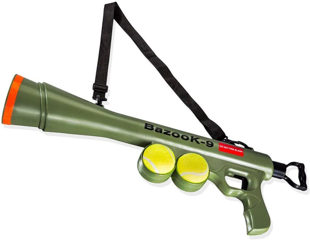 OxGord BazooK-9 Tennis Ball Launcher Unique Dog Toy