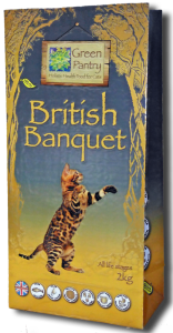 The world's most expensive cat food: Green Pantry British Banquet