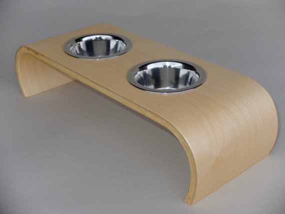 Claymark Furniture Dog Feeder from Unique Dog Gifts Post