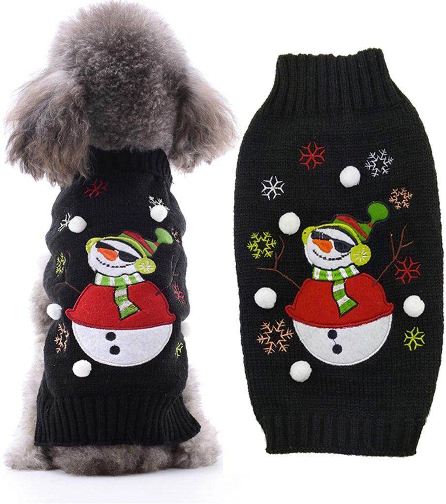 DOGGYZSTYLE Dog Christmas Sweater Unique Dog Gift