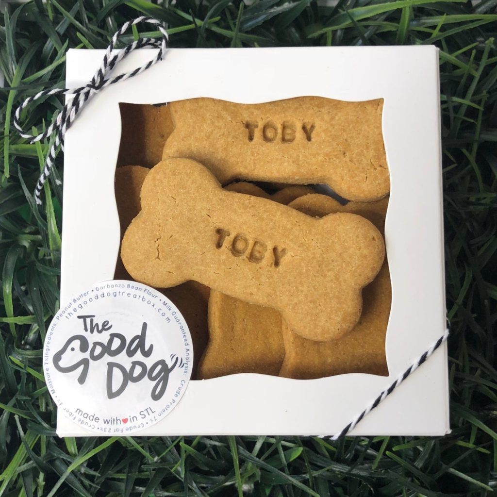 Personalized Grain-Free Peanut Butter Dog Treats Unique Dog Gift