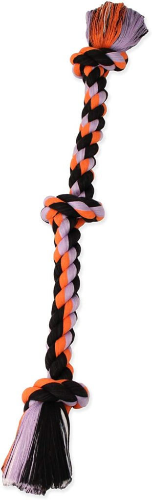Mammoth Flossy Chews Color Rope Tug Unique Dog Toy