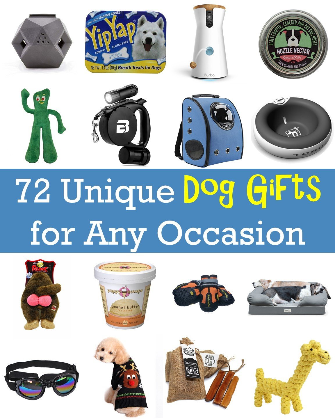Unique Dog Gifts Cover Photo