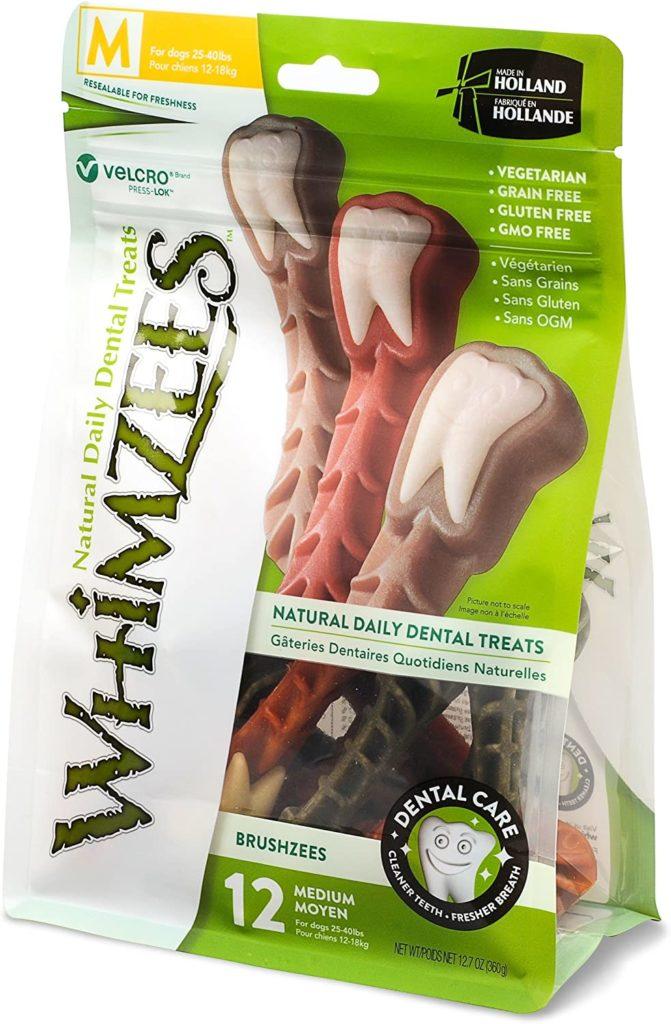 Whimzees Natural Grain-Free Brushzees