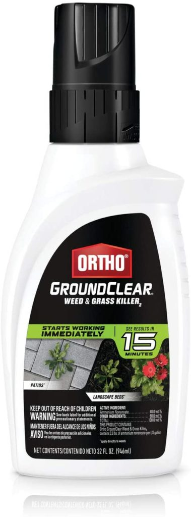 Ortho GroundClear Pet-Safe Weed & Grass Killer
