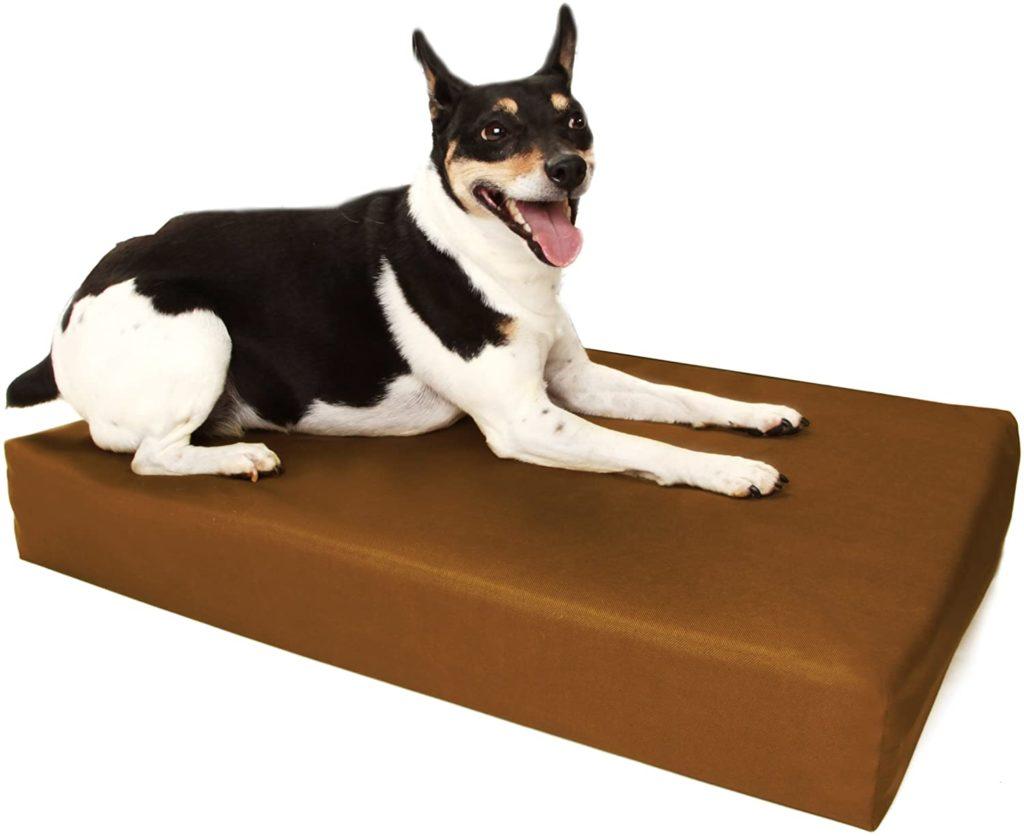 Big Barker Orthopedic Dog Crate Pad for Chewers