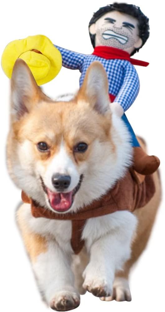 Cowboy Rider Dog Halloween Costume