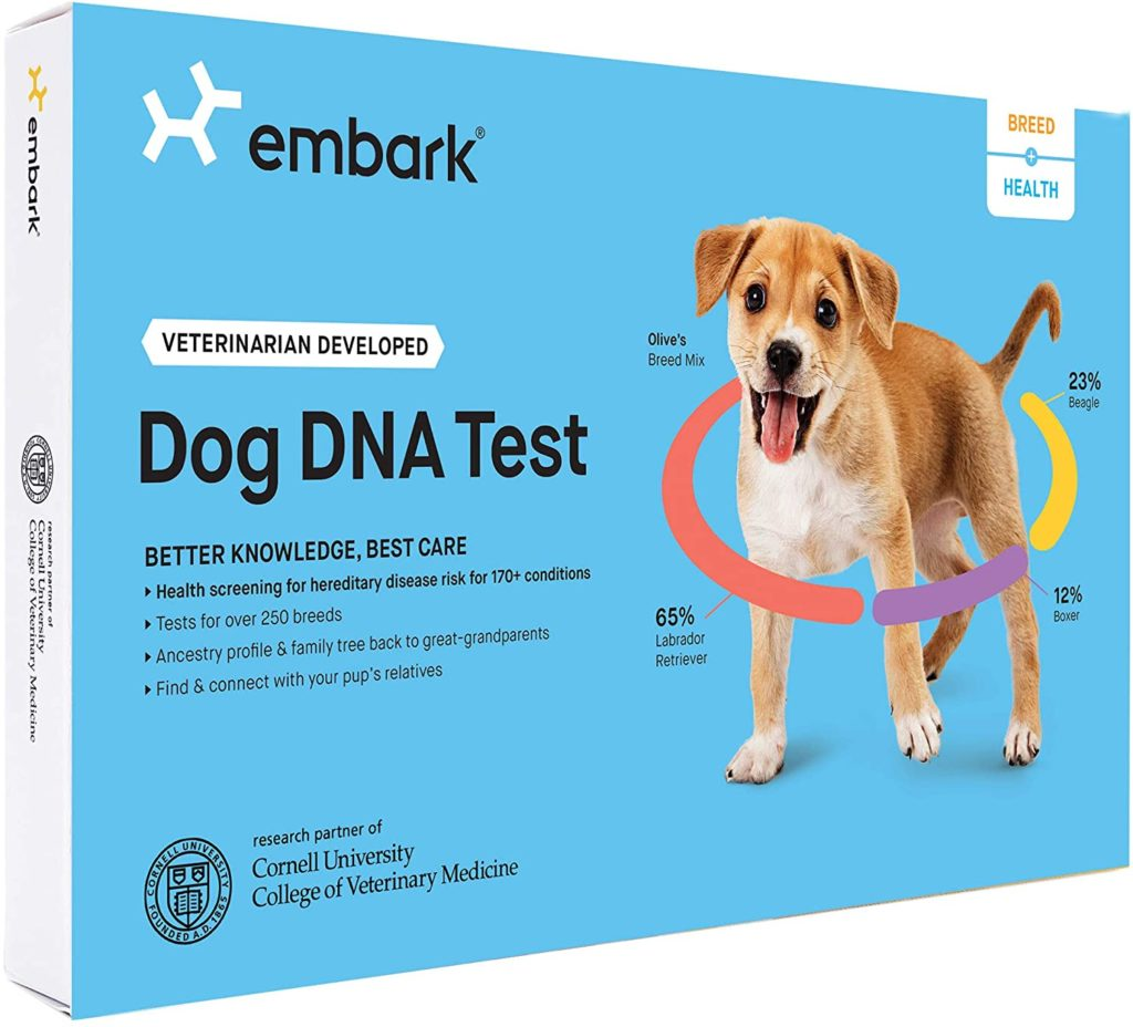 Embark Breed and Health Dog DNA Kit
