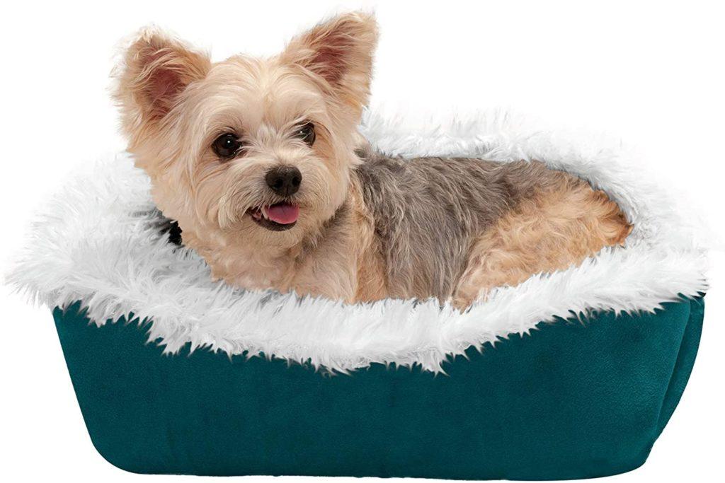FurHaven Convertible Self-Warming Cuddle Pet Bed