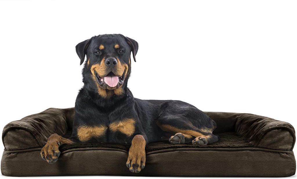 Furhaven Pet Washable Dog Bed