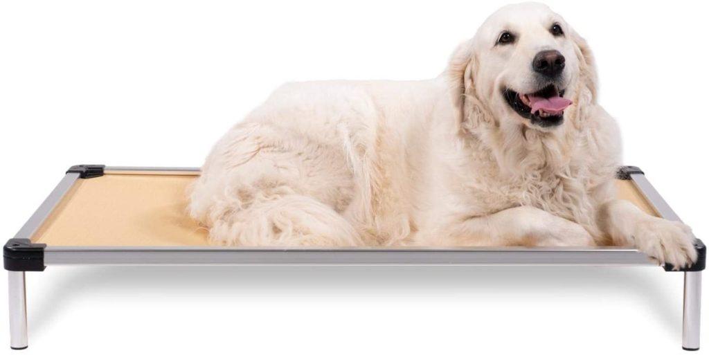 K9 Ballistics Chew-Resistant Raised Dog Bed