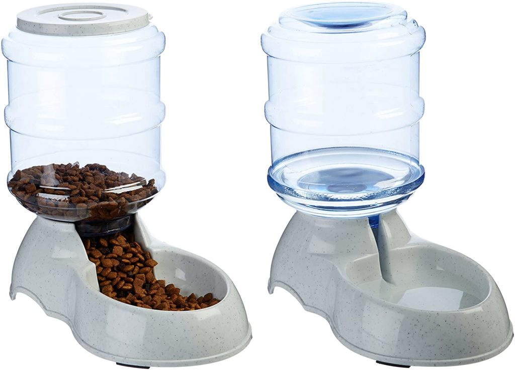 AmazonBasics Gravity Pet Feeder and Waterer