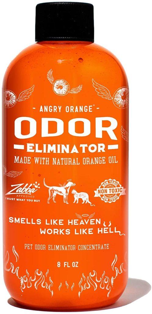 Angry Orange Pet Odor Eliminator Pet Carpet Cleaner