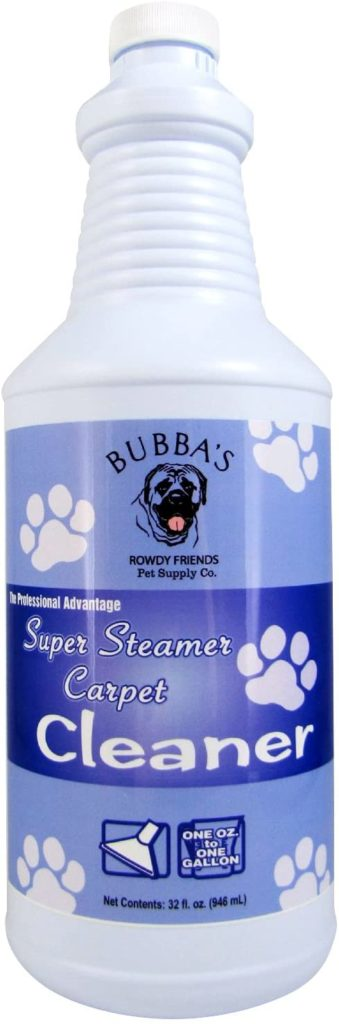 Bubba's Super Steamer Pet Carpet Cleaner