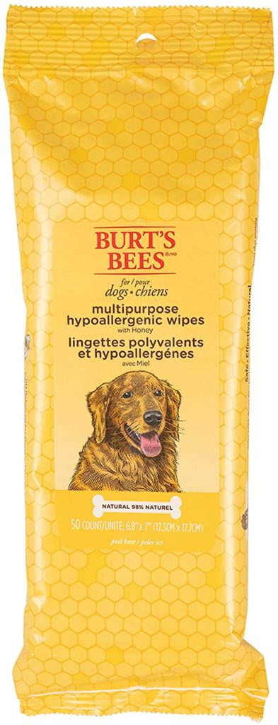 Burt's Bees for Dogs Hypoallergenic Wipes