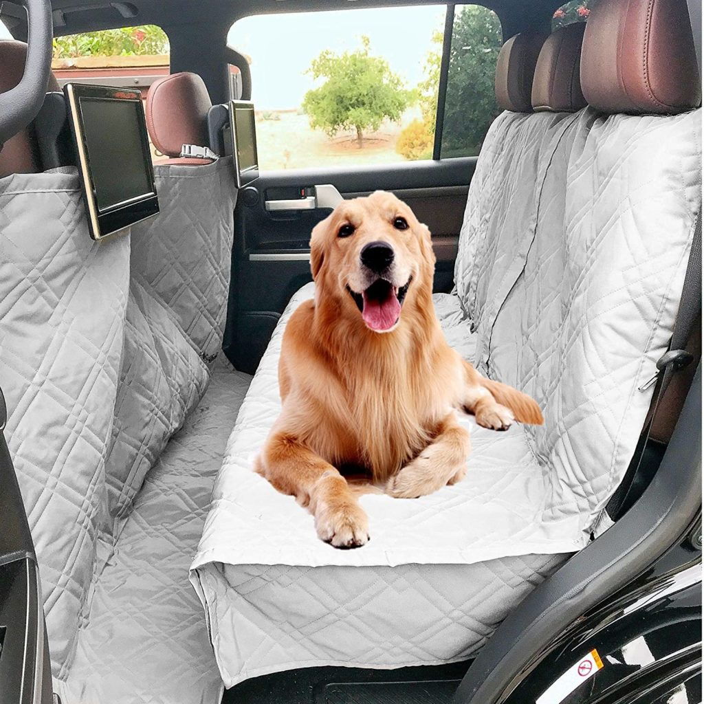 Deluxe Quilted and Padded Dog Car Seat