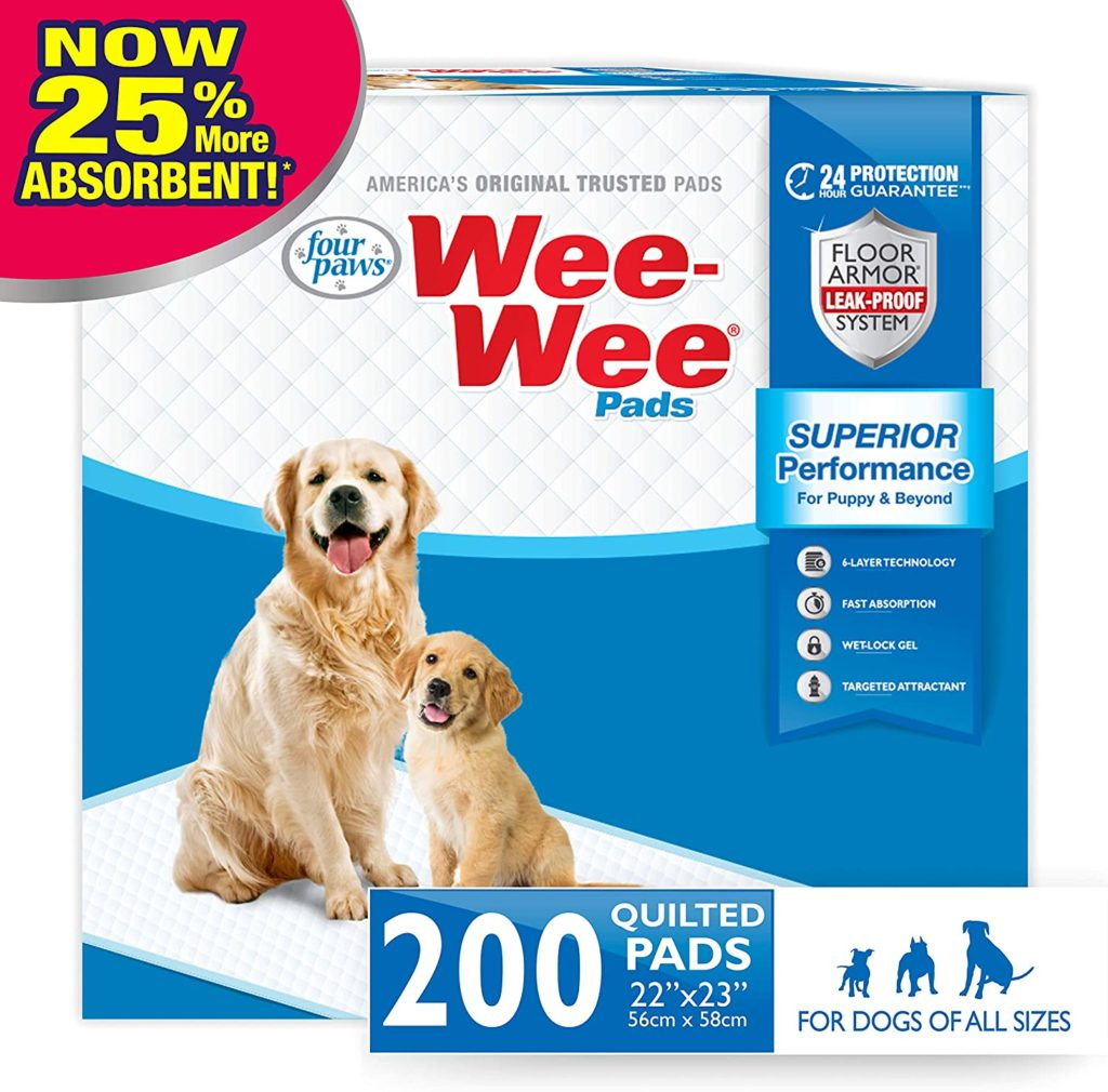 Four Paws Wee-Wee Standard Puppy Training Pads