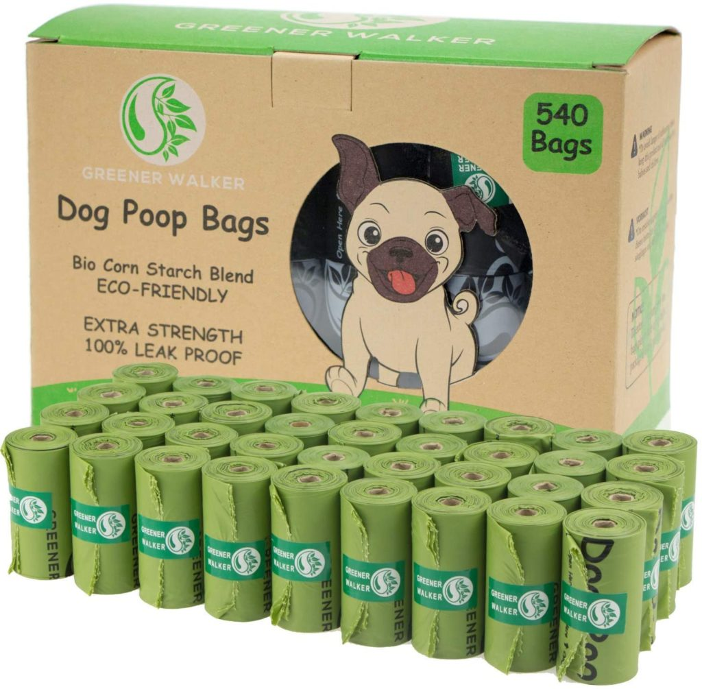 Greener Walker Biodegradable Poop Bags