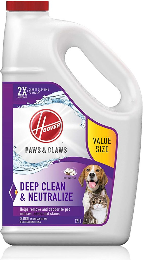 Hoover Paws & Claws Carpet Cleaning Solution with Stainguard