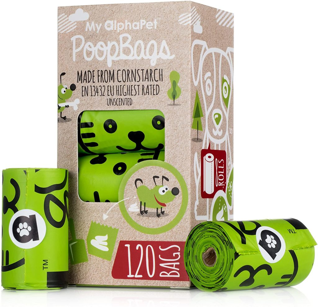 MyAlphaPet Dog Biodegradable Poop Bags