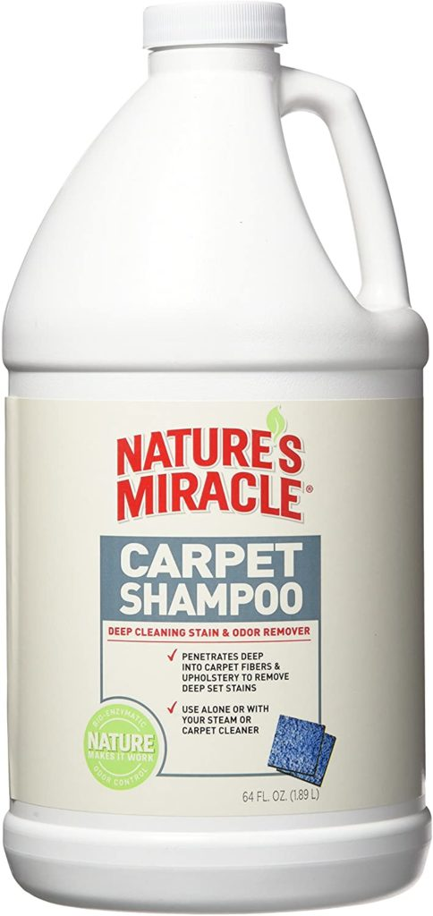 Nature's Miracle Deep Cleaning Pet Carpet Shampoo