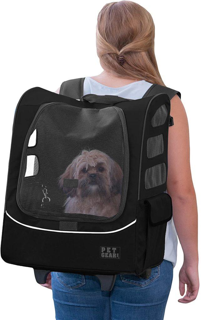 Pet Gear I-Go-2 Roller Backpack Dog Carrier Bag