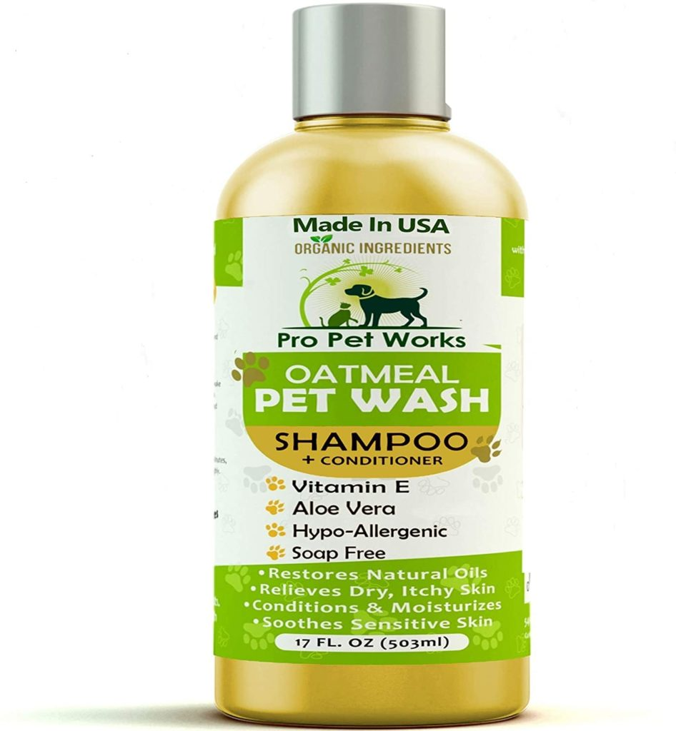 Pro Pet Works All-Natural Organic Oatmeal Cat Shampoo and Conditioner