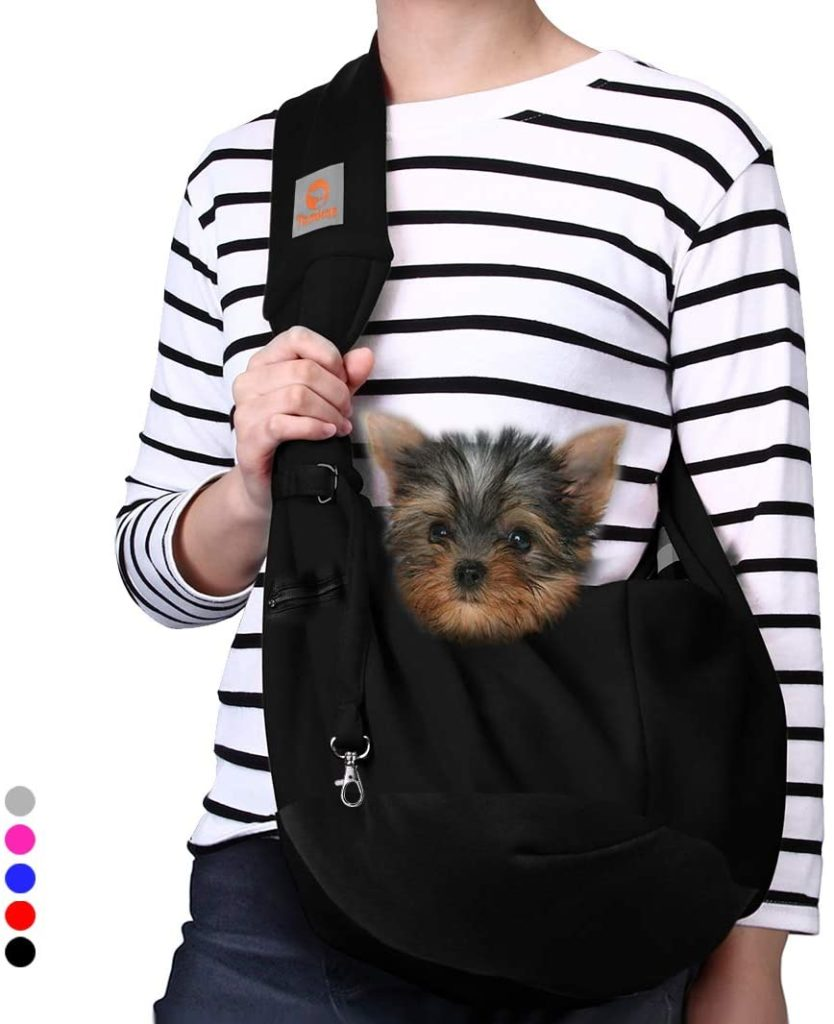 TOMKAS Small Dog Sling Carrier