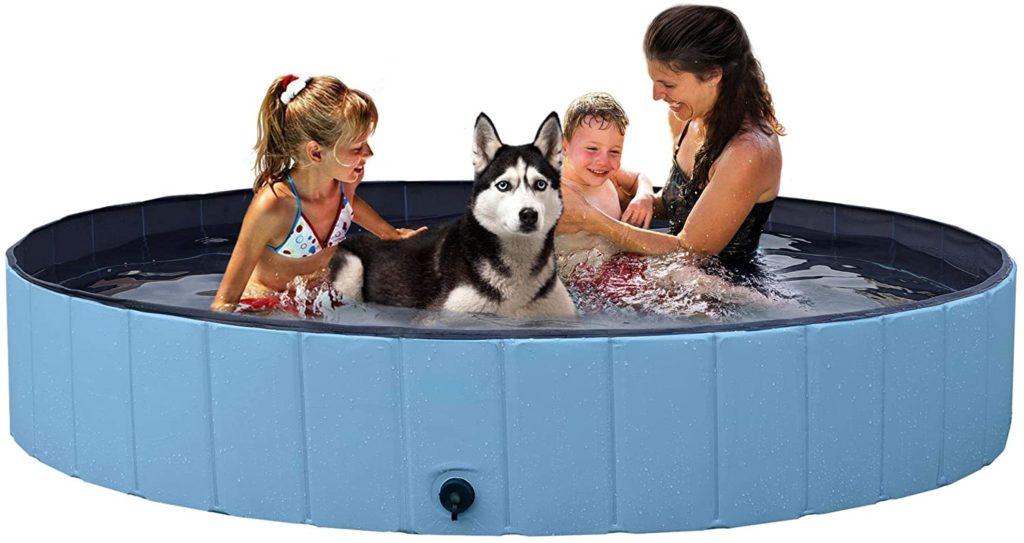 YAHEETECH Foldable Dog Swimming Pool