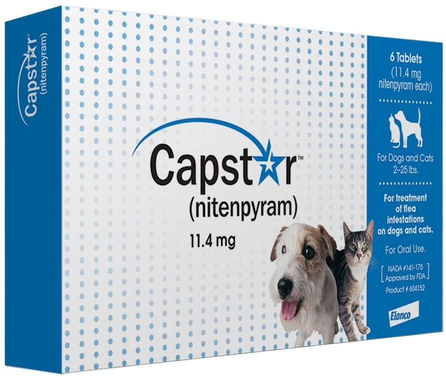 Capstar Oral Flea Treatment