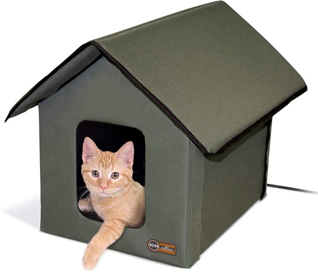 K&H Heated Outdoor Kitty House