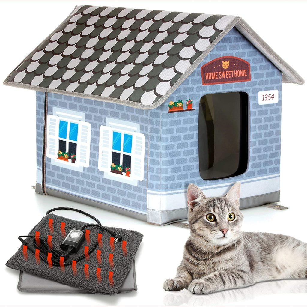 Petyella Premium Outdoor Cat House