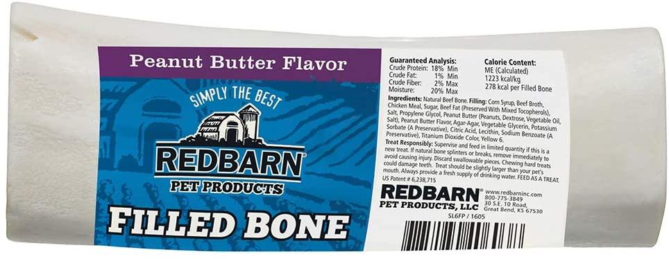 Redbarn Peanut Butter Stuffed Bone