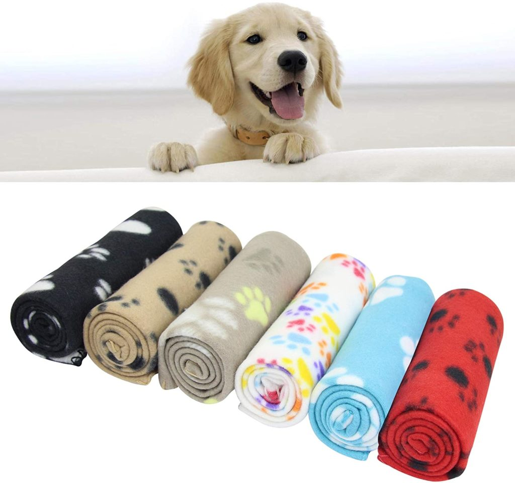 AK KYC Mixed Puppy Blankets