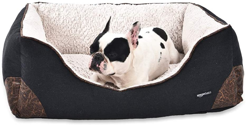 AmazonBasics Cuddler Dog Bed