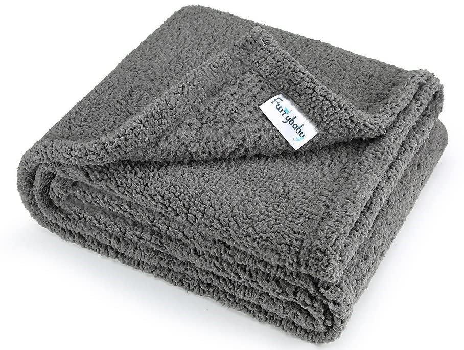 Furrybaby Fleece Dog Blanket