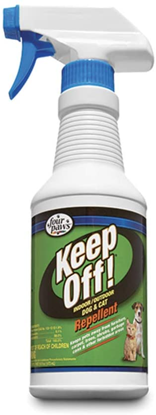 Four Paws Keep Off! Cat Deterrent Spray