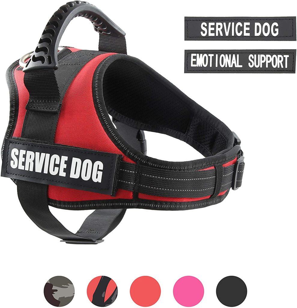 PawShoppie Reflective Service Dog Vest Harness