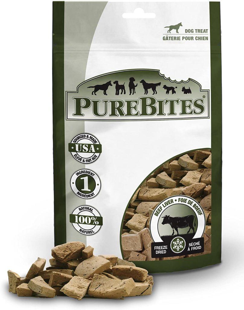 PureBites Beef Liver Dog Treats