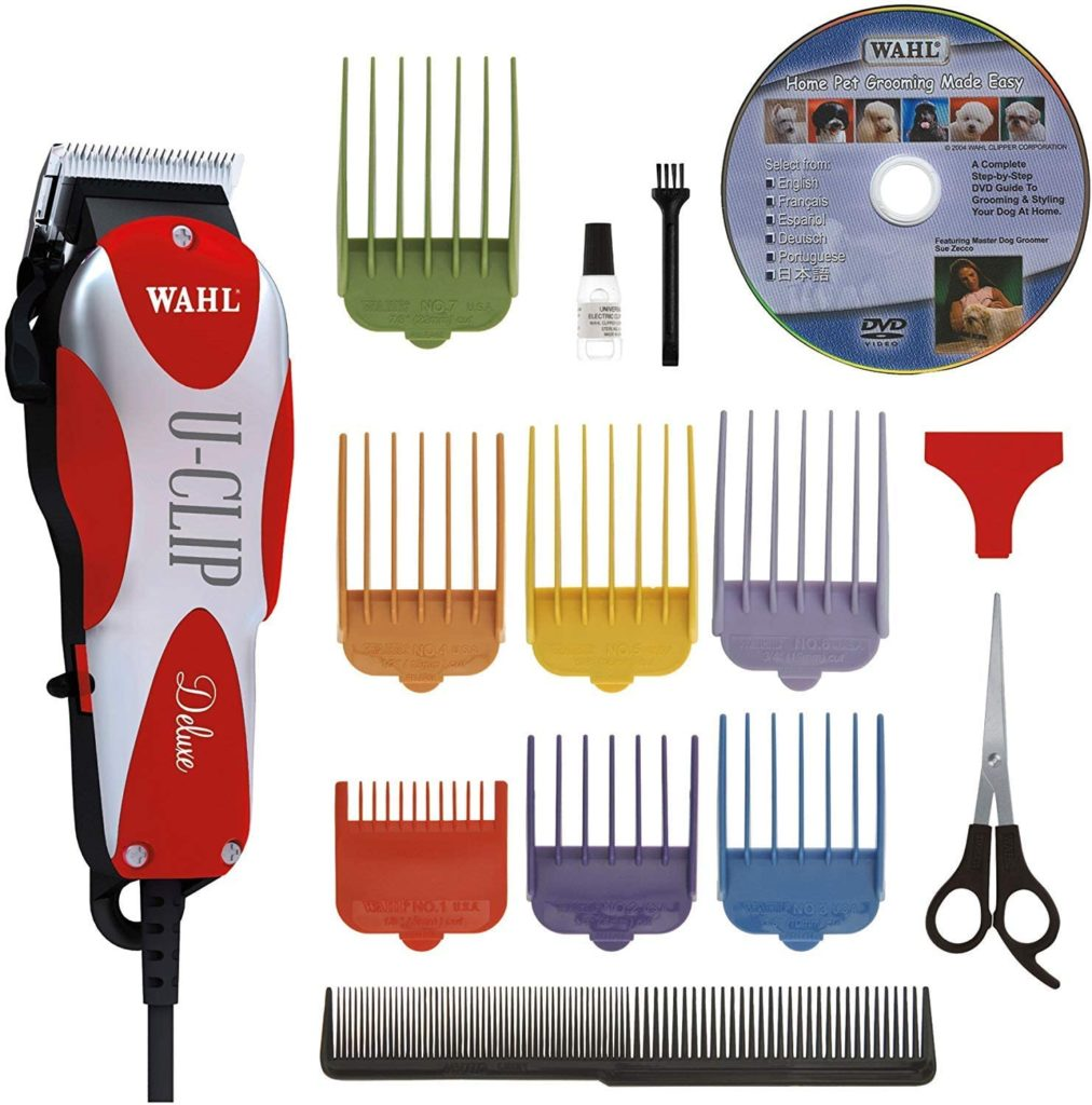 Wahl Deluxe U-Clip Clipper and Grooming Kit