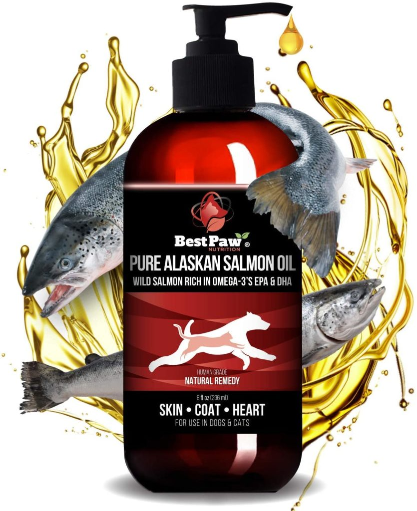 Best Paw's Pure Alaskan Salmon Fish Oil for Dogs