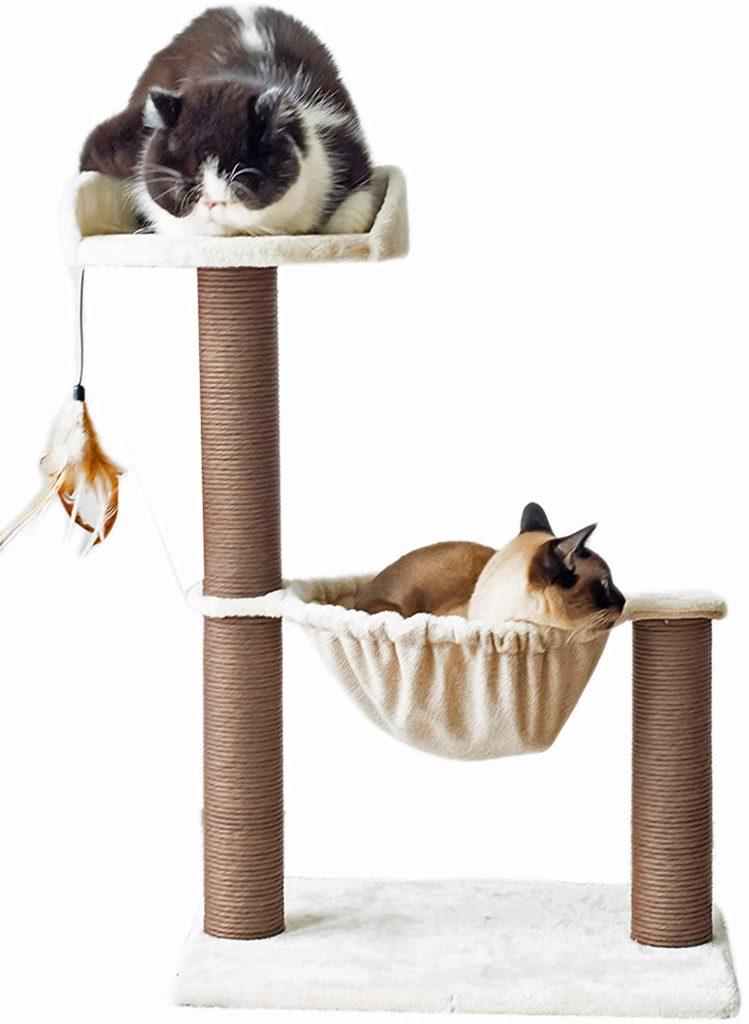 Catry Cat Tree Hammock Bed