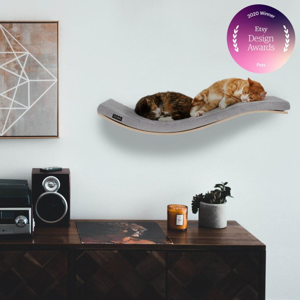 Cosy and Dozy Chill DeLuxe Cat Shelf