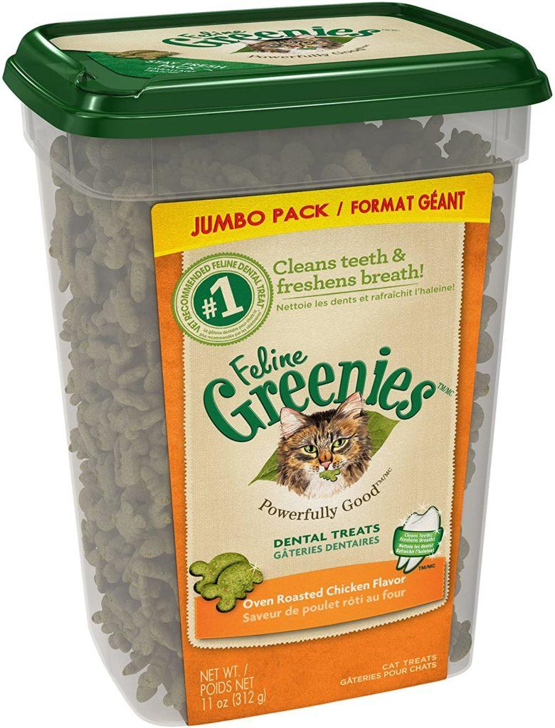 Greenies Dental Care Cat Treats