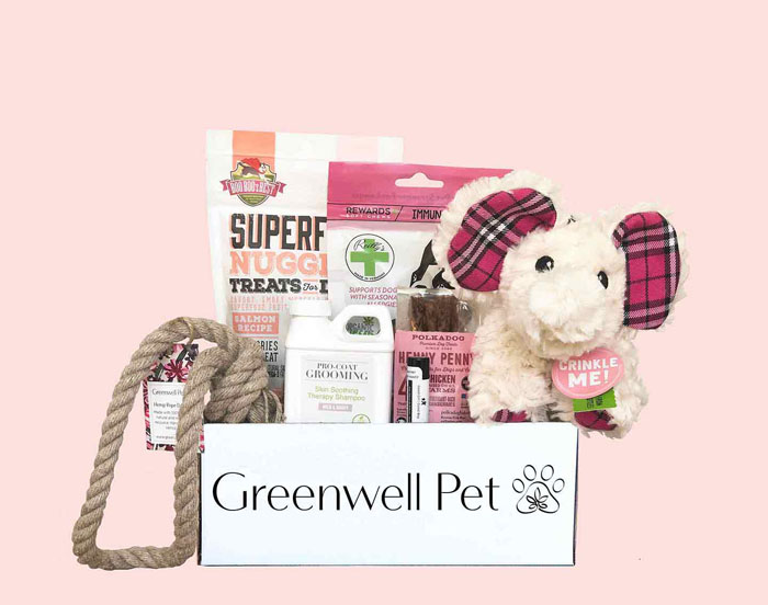 Greenwell Pet Dog Subscription Box