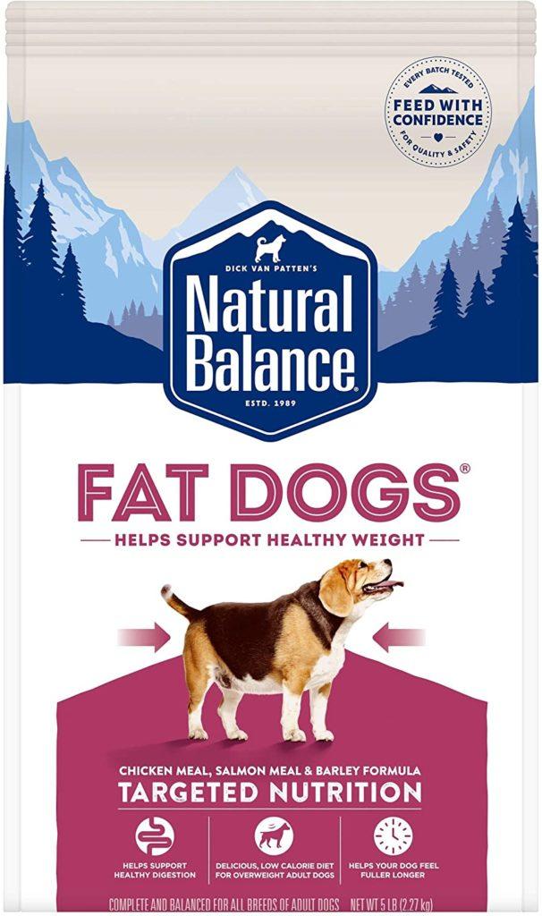 Natural Balance Fat Dogs Low-Fat Dog Food