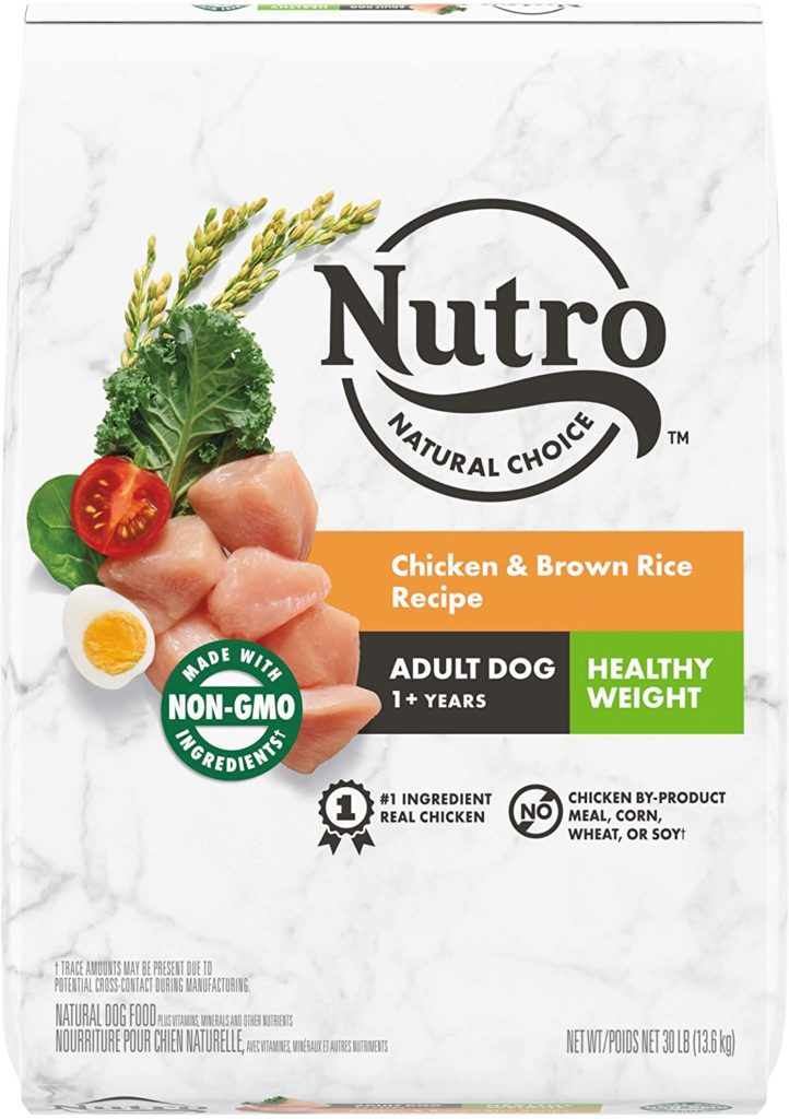 Nutro Natural Healthy Weight Recipe