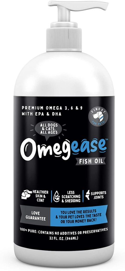 Omegease Omega-Rich Fish Oil for Dogs